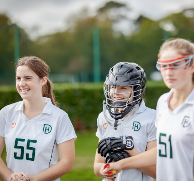 Life at Downe House sport lacrosse