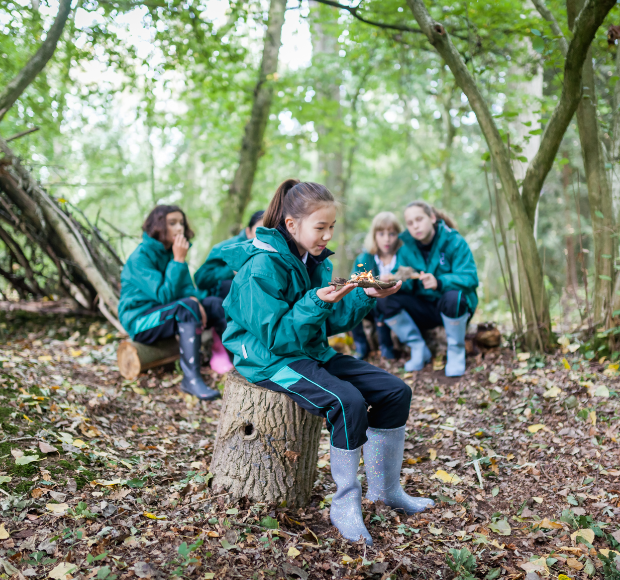 Life at Downe House outdoor activities