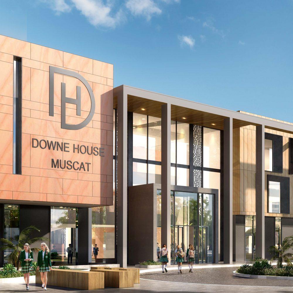 Downe House Muscat Building
