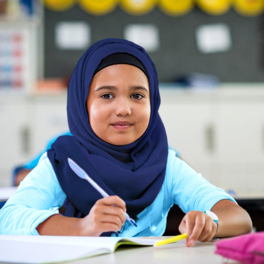 Omani Girl in class